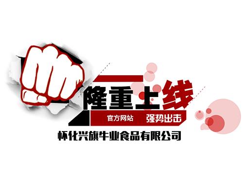 热烈庆祝龙8国际pt娱乐城兴旗牛业食品有限公司网站上线